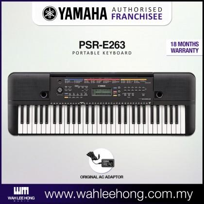 Yamaha PSR-E263 61-Keys Portable Keyboard (PSRE263 / PSR E263)