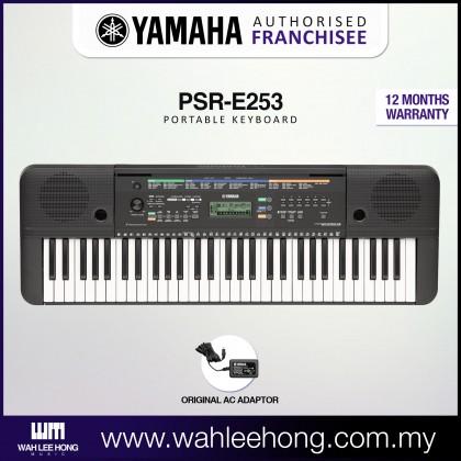 Yamaha PSR-E253 61-Keys Portable Keyboard (PSRE253 / PSR E253)
